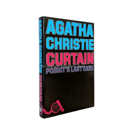 Curtain by Agatha Christie First Edition The Crime Club by Collins 1975